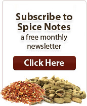 Free spice sample
